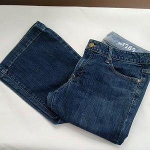 GAP Long & Lean dark denim 1969 jeans 30/10R